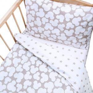 КПБ в детскую кроватку 121 простыней на резинке