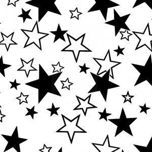 Поплин 220 см 697-2 Звезды поплин