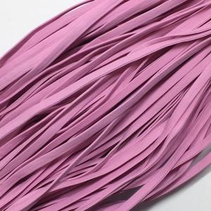Шнур декоративный кожзам 4мм розовый 2147 уп 10 м