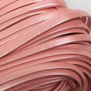 Шнур декоративный кожзам 5мм розовый 2146 уп 10 м