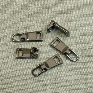 Подвес к бегунку №3 металл черный никель (03)