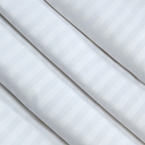 Ткань на отрез Страйп сатин полоса 1х1 см 280 см 135 гр 40х40 air jet