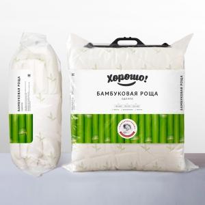 Одеяло Бамбуковая роща легкое 120 гр 140х205