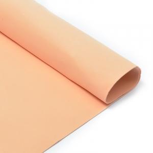 Фоамиран в листах 1 мм 50/50 см уп 10 шт MG.A050 цвет персиковый