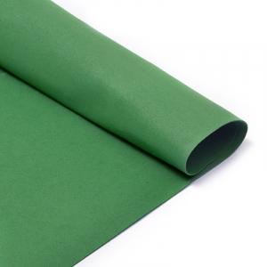 Фоамиран в листах 1 мм 50/50 см уп 10 шт MG.A014 цвет темно-зеленый