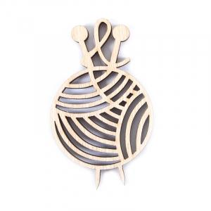 Фигурки для декора из дерева клубочки ФН7
