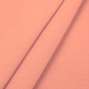 Ткань на отрез поплин гладкокрашеный 220 см 115 гр/м2 цвет коралл