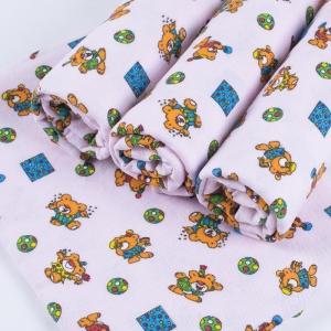 Набор детских пеленок фланель 4 шт 90/120 см 156-3П
