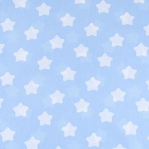 Отрез 150х300 Бязь плательная 150 см 1737/3 цвет голубой