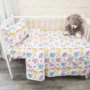 Постельное белье в детскую кроватку из поплина 1836