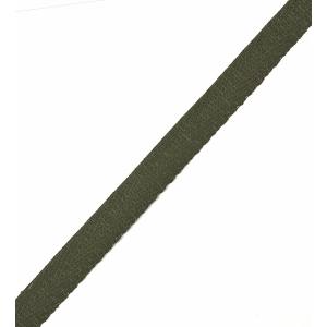 Тесьма киперная 13 мм хлопок 1,8г/см арт.12.2С-253К.13.075 цв.т.зеленый