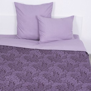 Постельное белье 11572/1 Вирджиния фиолетовая 1.5 сп поплин