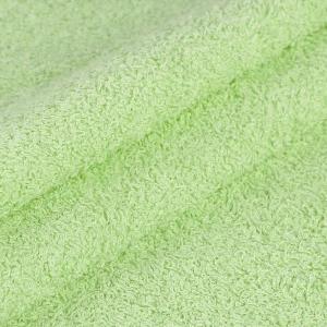 Махровая ткань 220 см 380гр/м2 цвет салатовый