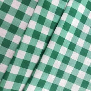 Ткань на отрез полулен 150 см 10432/1 цвет зеленый
