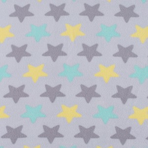 Ткань на отрез флис Звезды 40995/3 цвет салатовый