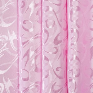 Портьерная ткань 150 см 14 цвет розовый