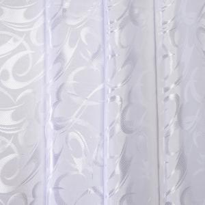 Портьерная ткань 150 см 27 цвет белый