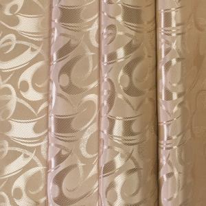 Портьерная ткань 150 см 2 цвет кофейный