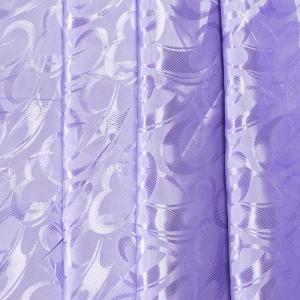 Портьерная ткань 150 см 19 цвет сиреневый