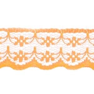 Кружево капрон 20 мм/10 м цвет 133-1 оранжевый