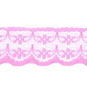 Кружево капрон 20 мм/10 м цвет 133-1 розовый