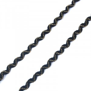 Тесьма плетеная вьюнчик С-3015 (3584) г17 уп 20 м ширина 7 мм (5 мм) рис 8528 цвет 015