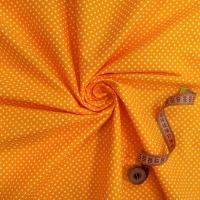 Ткань на отрез бязь плательная 150 см 1554/19 цвет оранжевый