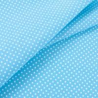 Ткань на отрез бязь плательная 150 см 1554/14 цвет бирюза