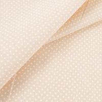 Ткань на отрез бязь плательная 150 см 1554/15 цвет светло-бежевый