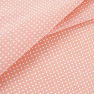 Ткань на отрез бязь плательная 150 см 1554/17 цвет персик
