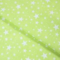 Ткань на отрез бязь плательная 150 см 1556/10 цвет салатовый