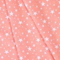Ткань на отрез бязь плательная 150 см 1556/12 цвет персик