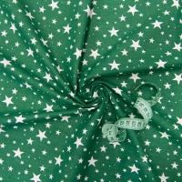 Ткань на отрез бязь плательная 150 см 1556/14 цвет зеленый