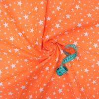 Ткань на отрез бязь плательная 150 см 1556/15 цвет оранжевый