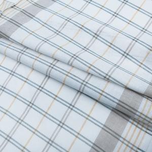Ткань на отрез полулен полотенечный 50 см 3/85/11 Клетка лавр весенний 113358