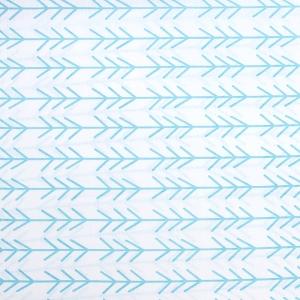 Ткань на отрез бязь плательная 150 см 8116 Елочки