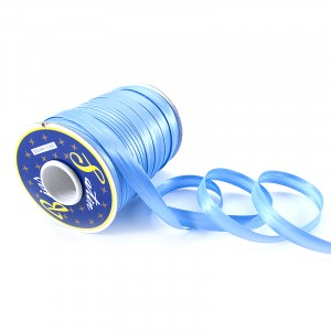 Косая бейка ширина 15 мм (132 м)  цвет F184 светло-голубой