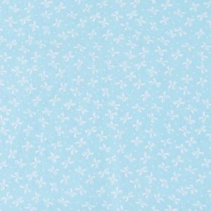 Ткань на отрез бязь плательная 150 см 1738/7 бирюза