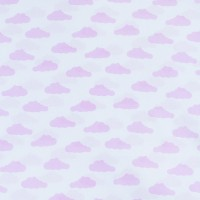 Ткань на отрез бязь плательная 150 см 1745-А/2 цвет розовый