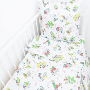 Постельное белье в детскую кроватку 250/45 Кот Леопольд