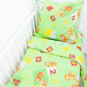Постельное белье в детскую кроватку 250/47 Зверята