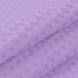 Ткань на отрез вафельное полотно гладкокрашенное 150 см 240 гр/м2 7х7 мм цвет 622 сиреневый