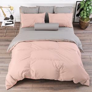 Ткань на отрез поплин гладкокрашеный 220 см 115 гр/м2 21057 цвет персик