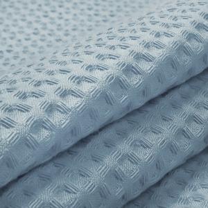 Ткань на отрез вафельное полотно гладкокрашенное 150 см 240 гр/м2 7х7 мм цвет 952 серо-голубой