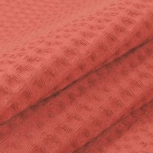 Ткань на отрез вафельное полотно гладкокрашенное 150 см 240 гр/м2 7х7 мм цвет 145 коралл