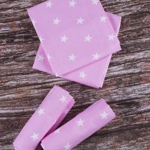 Набор детских пеленок бязь 4 шт 73/120 см 1700/2 цвет розовый