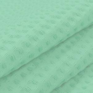 Вафельное полотно гладкокрашенное 150 см 240 гр/м2 7х7 мм  цвет 079 фисташка