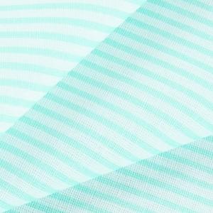 Ткань на отрез бязь плательная 150 см 8084 Полоса цвет мята