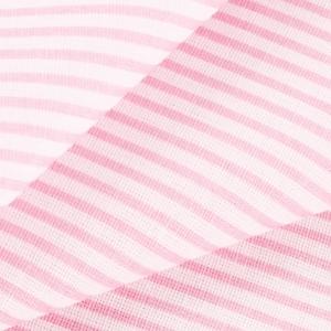 Ткань на отрез бязь плательная 150 см 8084 Полоса цвет розовый