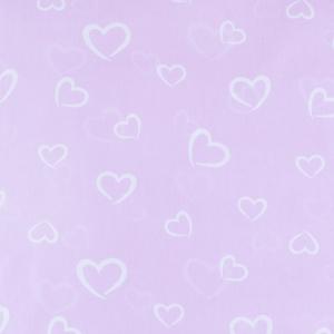 Ткань на отрез бязь плательная 150 см 1970/6 Флирт цвет розовый о/м